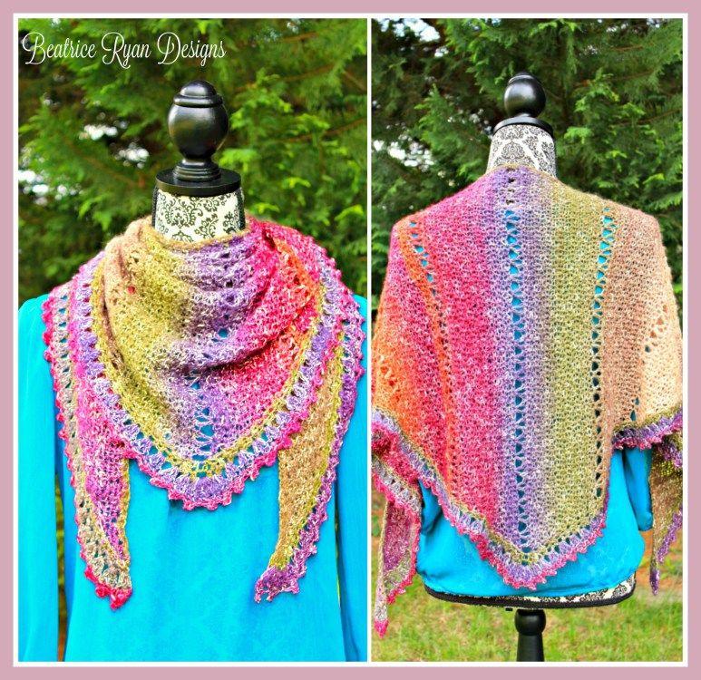 Amazing Grace Simple Spring Wrap… Free Crochet Pattern!! | Ponchos ...