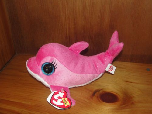 cf605f9a66c Ty Beanie Boo Surf The Pink Dolphin Boo Mint with Tags New for 2013 ...