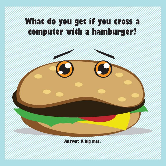 What Do You Get If You Cross A Computer With A Hamburger Jokes On
