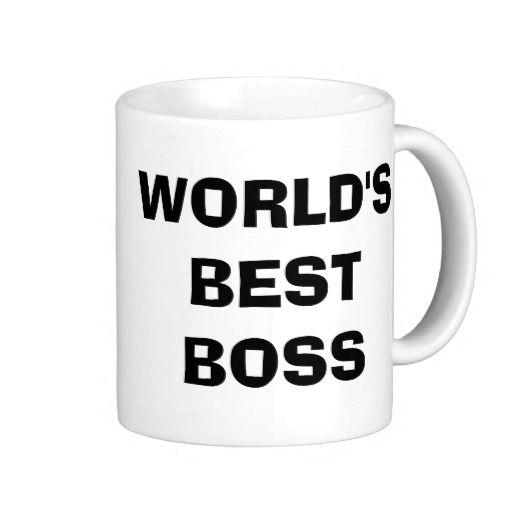 The Office, World'S Best Boss Coffee Mug - Custom Mugs - Create... #bosscoffee