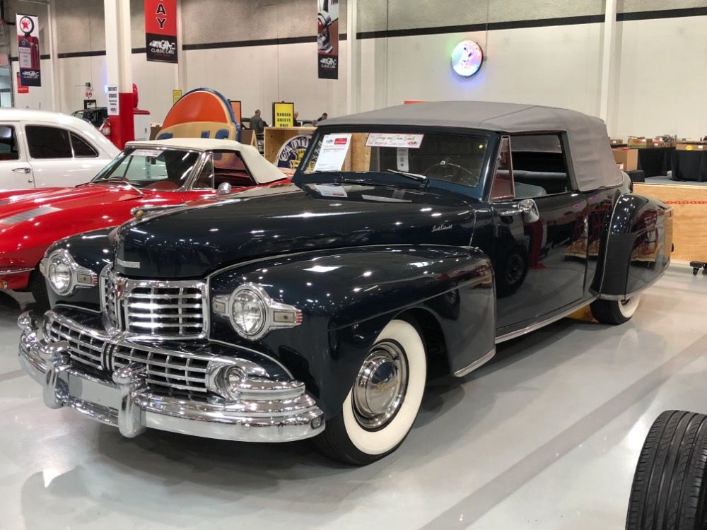 Used 1948 Lincoln Continental RARE FROM A MUSEUMSOUTHERN