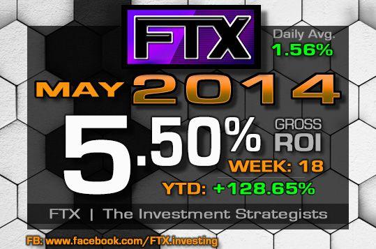 2014 Week 18 Profits!