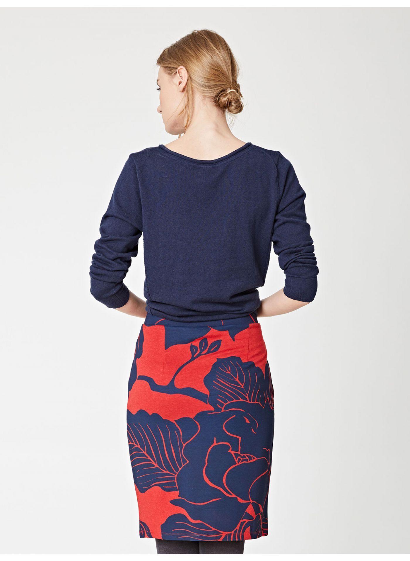 e6bfacb744 Hana Floral Organic Cotton Jersey Tube Skirt | I want to wear | Tube ...