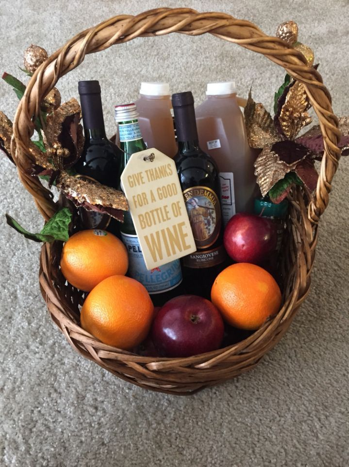 DIY Sangria kit! Kits are a great gift idea when you need to purchase for multiple people. Sangria is so versatile, you could even switch up the ingredients and buy either red or white to make it a little more personal.