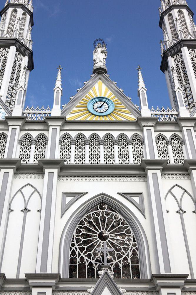 Our Lady of Mount Carmel, catholic church, via Spain, Panama