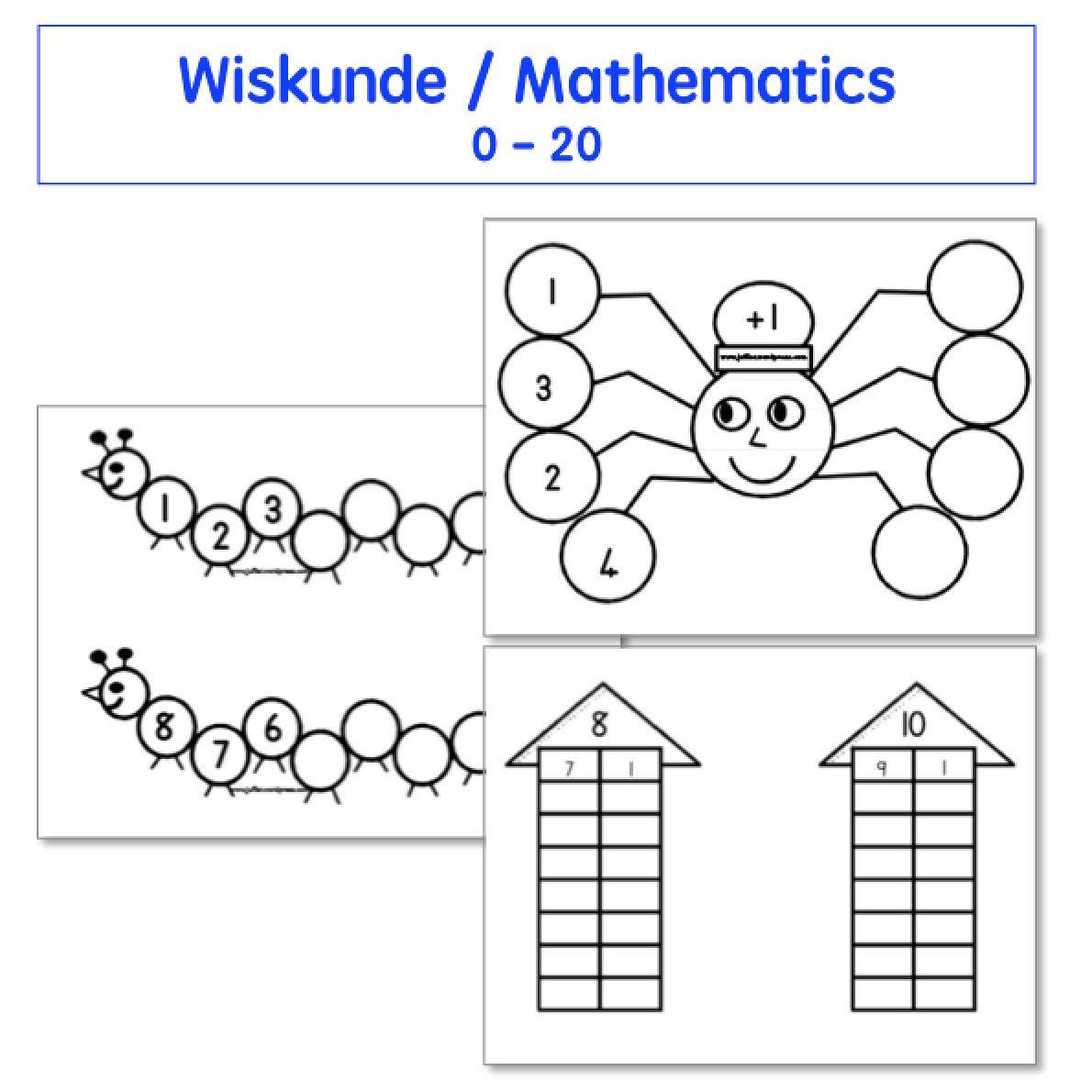 5 Number Bonds To 10 Worksheet Kombinasies Spinnekopsomme