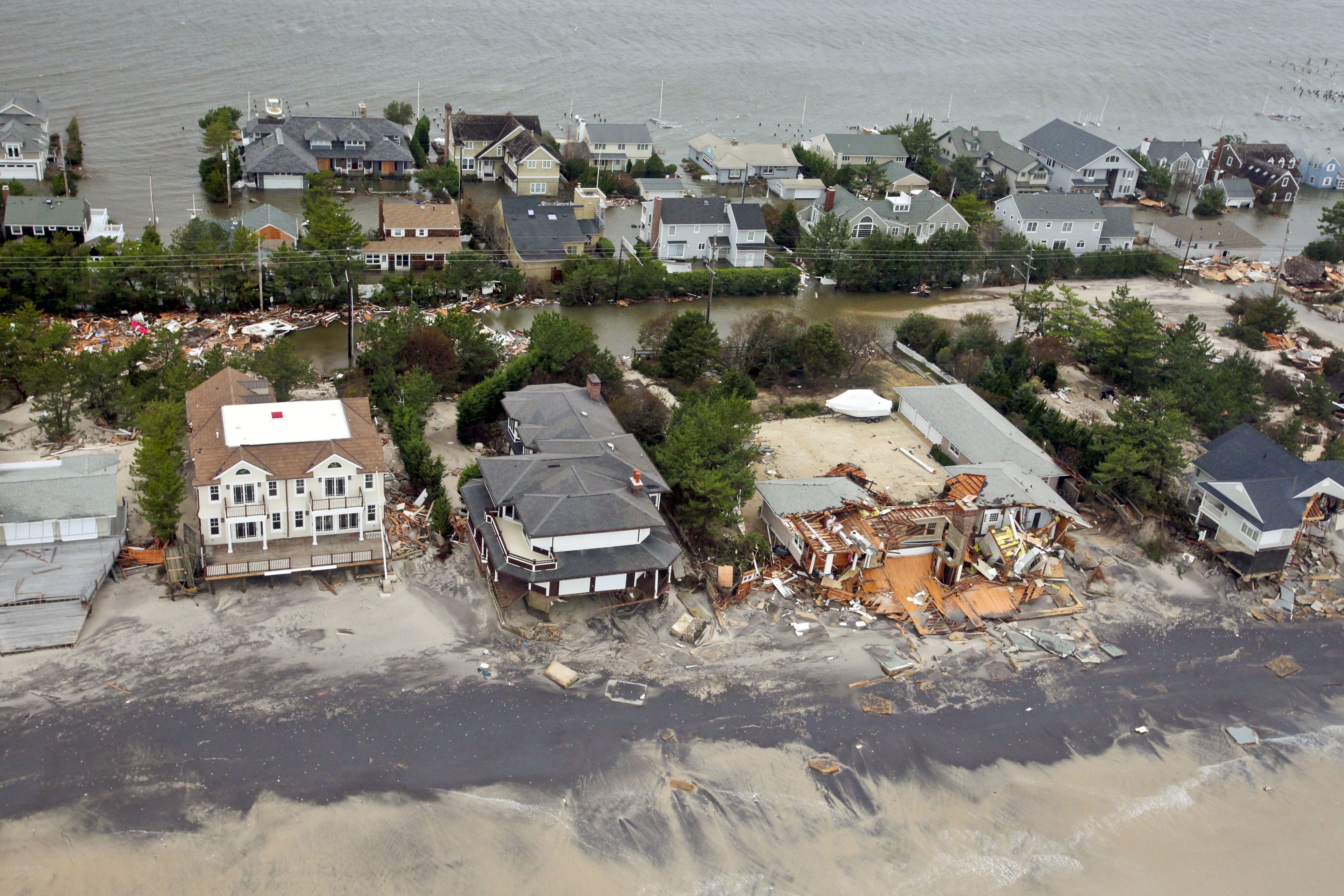 Damage Caused By Hurricane Sandy To The New Jersey Coast Credit U S Air Force Hurricane Sandy Storm Surge Sea Level Rise
