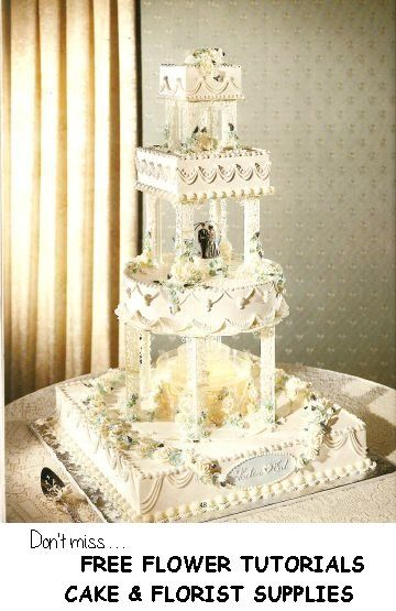 Big Wedding Cakes With Fountains Placing Wedding Fountain