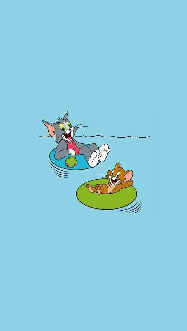 TOM AND JERRY (With images) Cute cartoon wallpapers