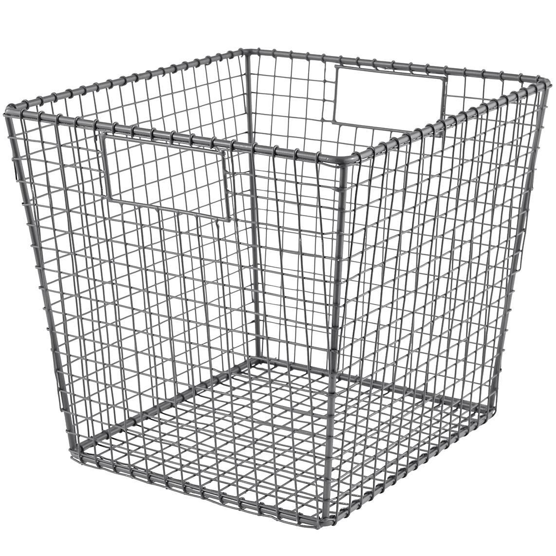 Kids Storage: Wire Storage Cube Bins | The Land of Nod | The Kids ...