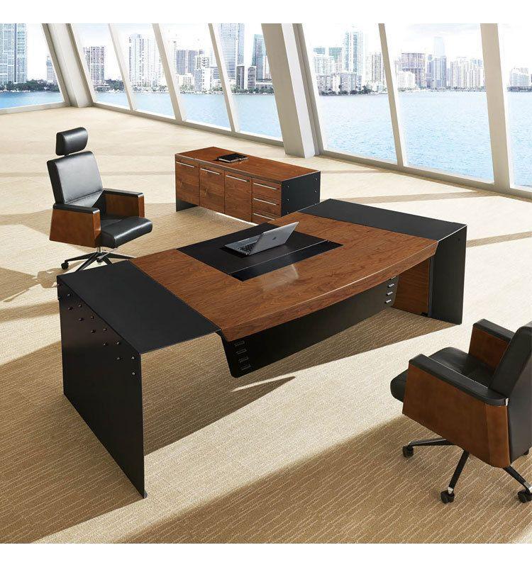 Multifunctional Desktop Fashion Design Wooden Executive