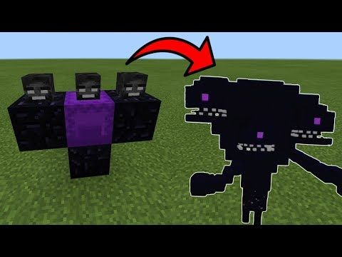 wither storm vs ender dragon in minecraft pocket edition youtube