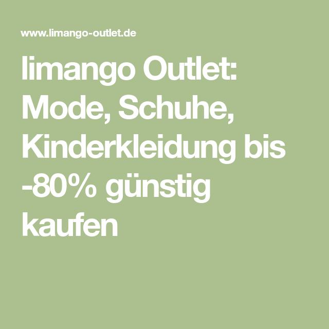 limango Outlet: Mode, Schuhe, Kinderkleidung bis 80