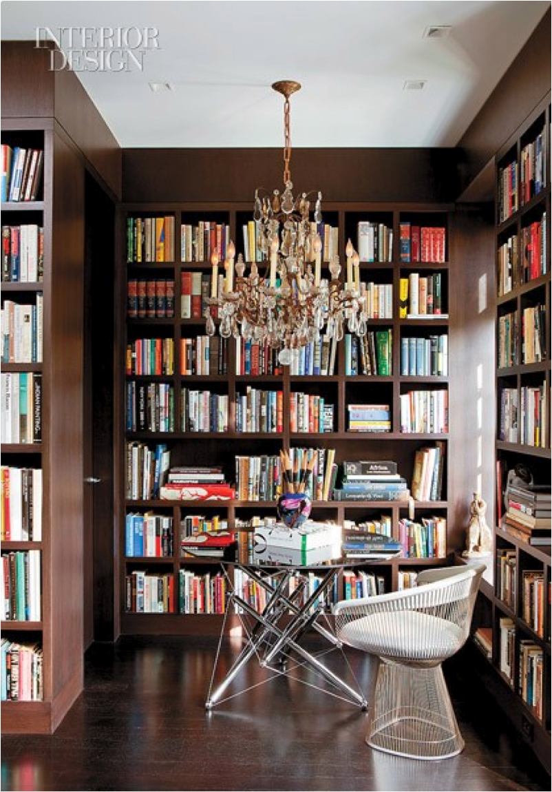 Home Library Room | Let's Decorate Online: Creating a Relaxing Home Library