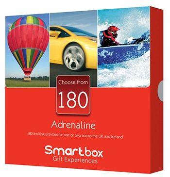 Smartbox Adrenaline – 40th Birthday Gift Ideas for Men
