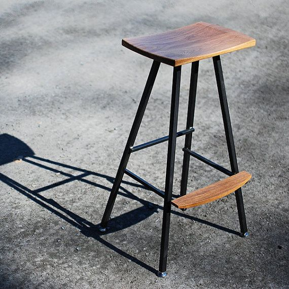 Captivating Modern, Industrial Bar Stool Or Kitchen Stool. Both Durable U0026 Comfortable.  We Hand
