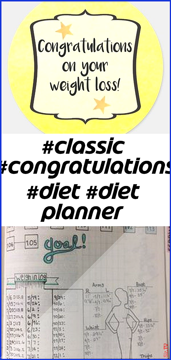 classic congratulations diet diet planner fitness loss planner sticker weight weight loss 4 classic...