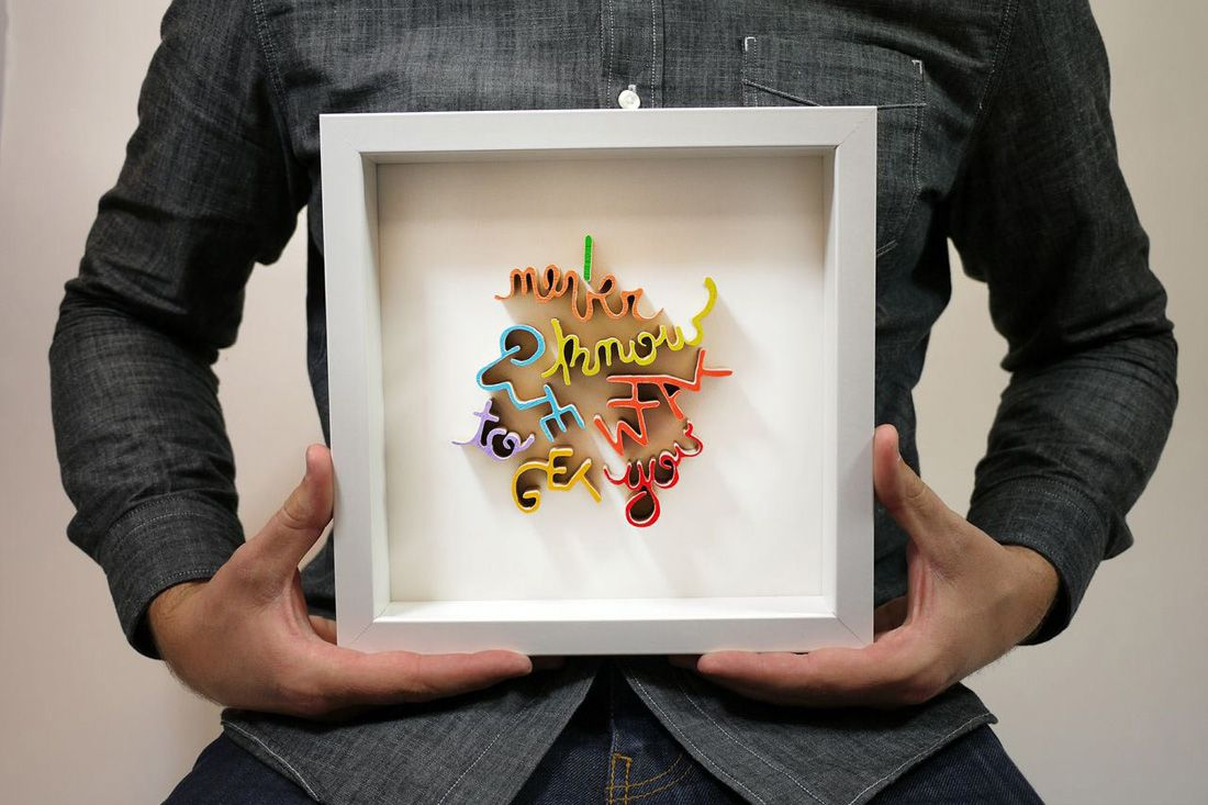 How Awesome Is This Hand Cut Wooden Word Wall Art