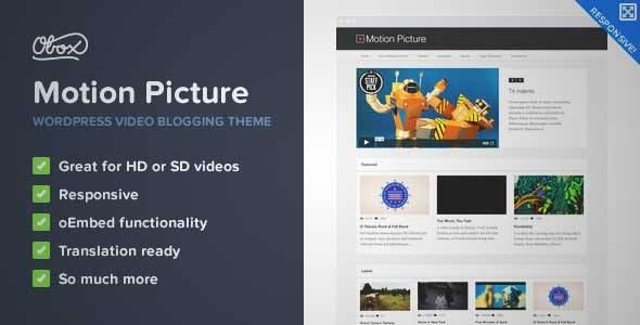 Download and review of Motion Picture - Responsive WordPress Video ...