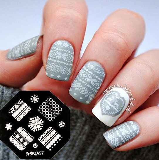 decoration ongle stamping