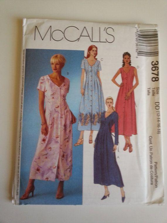 Maxi Dress/ A Line / summer / V neck / button down dress /tie back ...