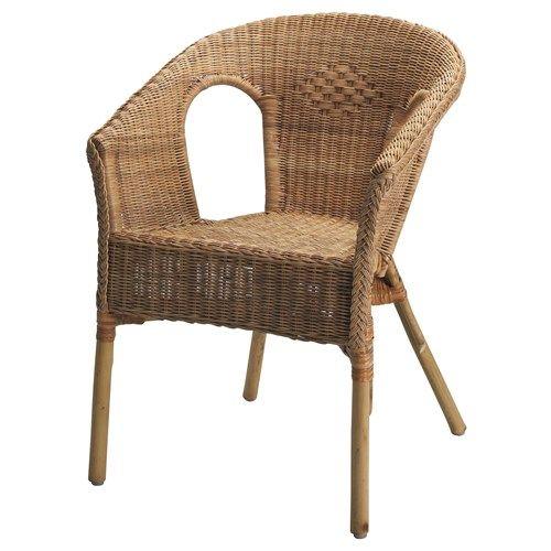 IKEA Agen Chair In Rattan, Bamboo