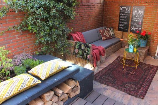 Voorbeeldtuin geoardesia alivo kleur riviera. eigen huis & tuin