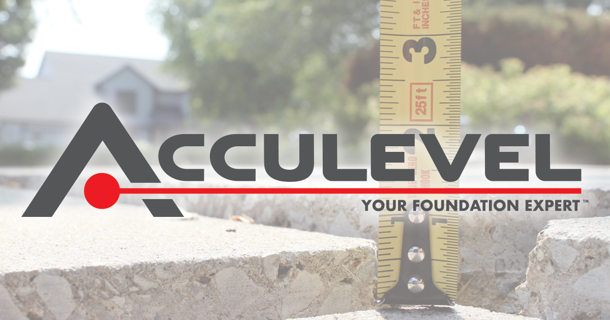 Acculevel Has Been Locally Owned And Operated For Over 20 Years Bbb A Rating And Trusted More Than Any Other F Foundation Repair Home Repair Home Maintenance
