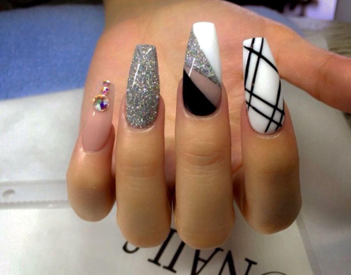 Pin de Elizabeth en Nails | Pinterest | Diseños de uñas, Unas ...