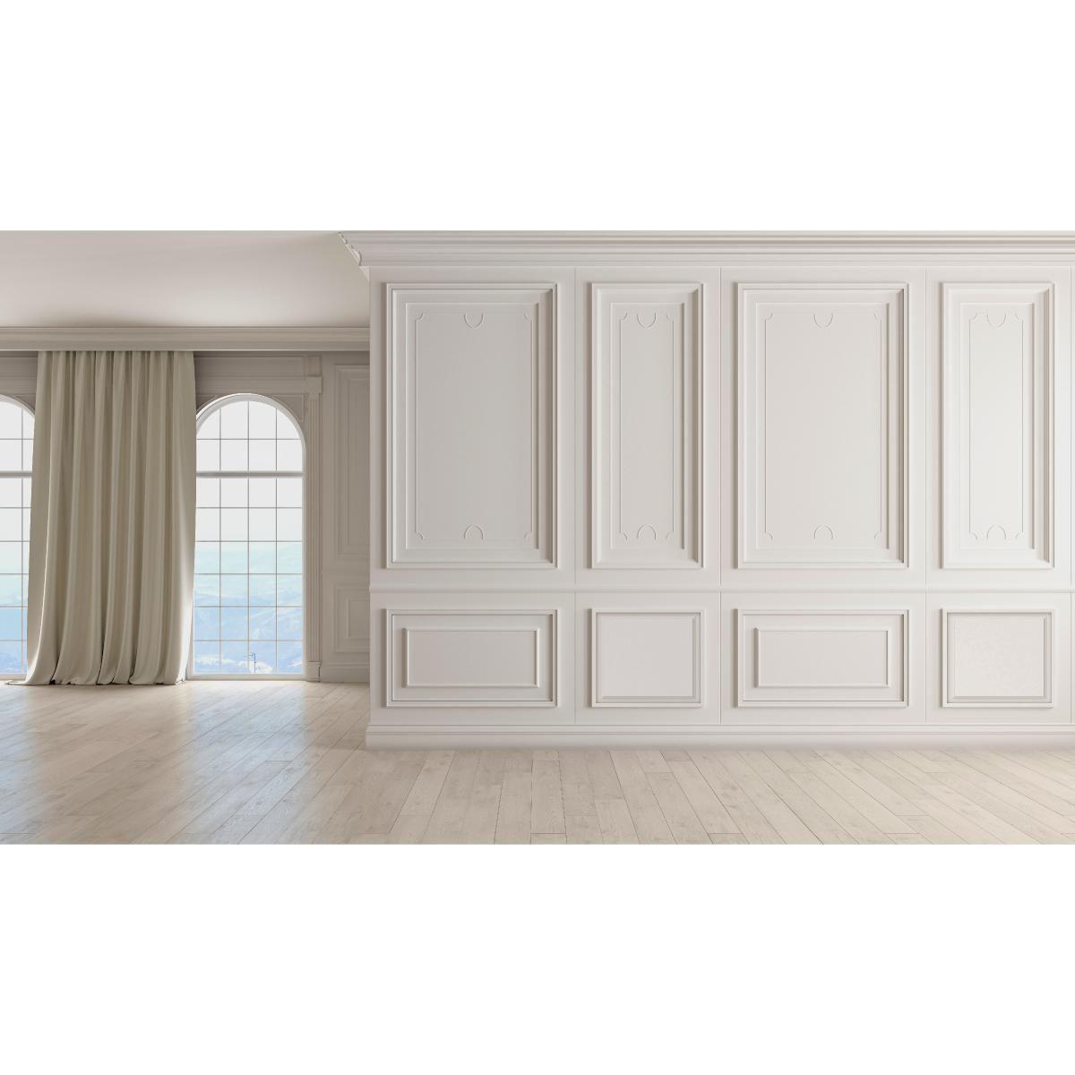 Harrison Raised Panel Decorative Wall Panel In 2020 White Paneling Decorative Wall Panels Wall Paneling