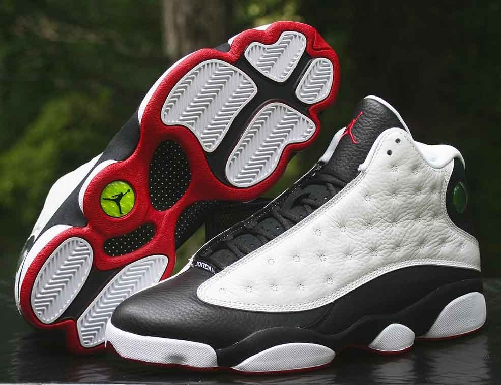 competitive price 493c0 75e79 Air Jordan XIII 13 Retro He Got Game White Black-True Red 309259-104 Size  10  Nike  BasketballShoes