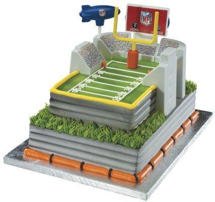NFL Stadium Signature DecoSet Football Stadium Cake Design NFL