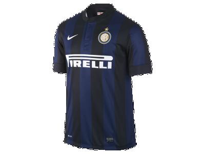 sale retailer 9763e d4694 2013/14 Inter Milan Stadium Men's Soccer Jersey #Amala ...