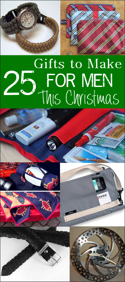 25 Awesome Gifts For Men Handmade gifts for men