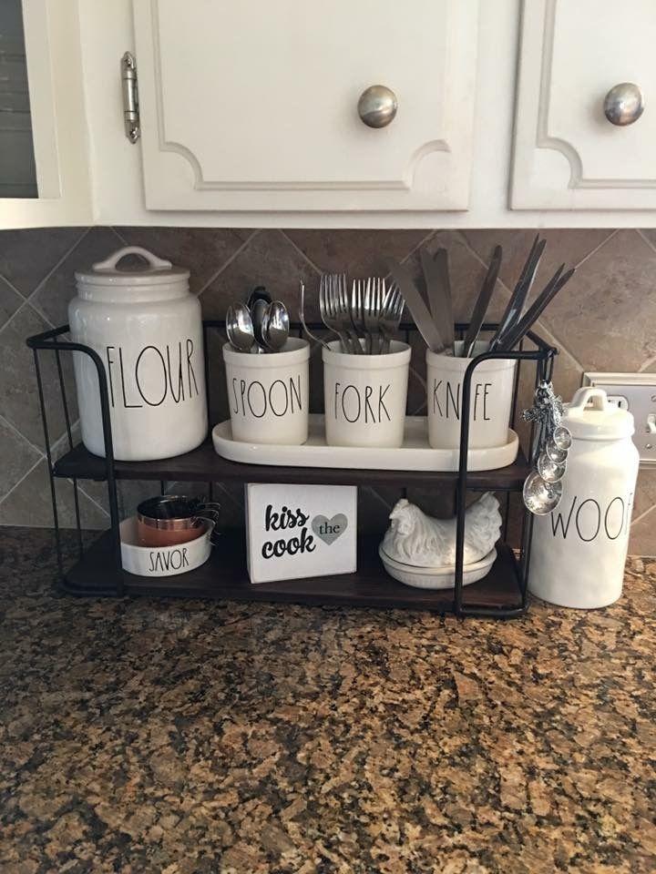 ʂɬaყ ʄiɛཞƈɛ ცi ƈɧɛʂ Rae Dunn In 2019 Home Kitchens Home