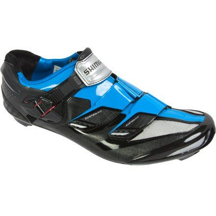 Shimano 2013 Mens Road Bike Shoe Shr241b Blackblue 44 Check Out This Great Product This Is An Amaz Road Cycling Shoes Road Bike Shoes Mountain Bike Shoes