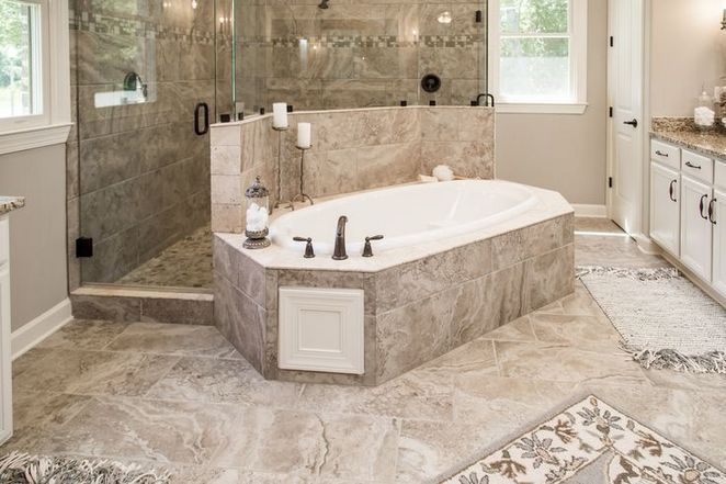 8 Dream Bathrooms Master Baths Walk In Shower Pebble Floor 36 Decorinspira Com Dream Bathroom Master Baths Dream Bathrooms Master Bathroom Shower