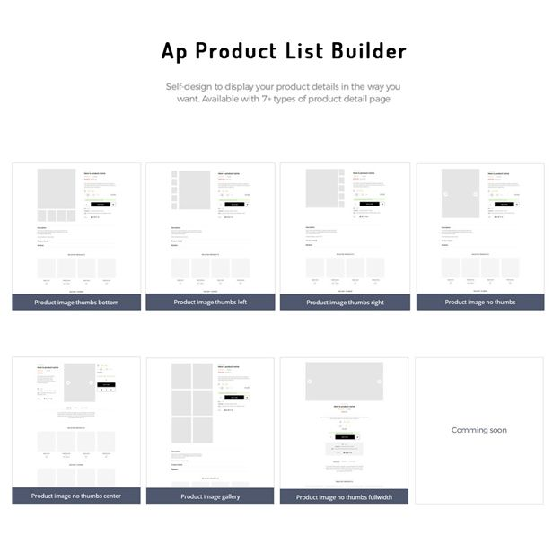 Ap Sane Multi-vendor Prestashop Theme- Multiple product page layouts
