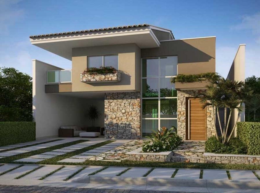 Visualisierung, Moderne Häuser, Projekte, Haushöhe, Fassaden, Moderne  Hausentwürfe, Baupläne, Mariana, Palm Beach