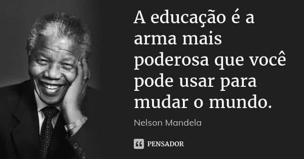 Nelson Mandela Nelson Frases Frase De Nelson Mandela E