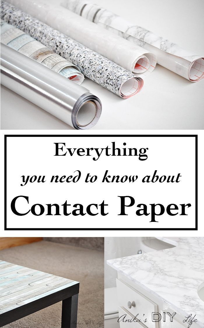 Decorating with all types of contact paper | marble, granite ...