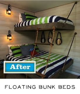 find this pin and more on for the home by rgriffin84 i like the floating bunk beds