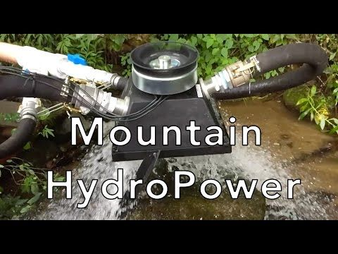 Micro Hydro Power With Turgo Generator To Generate 10 Kw Of Power Hydro Systems Energy Hydro Electric