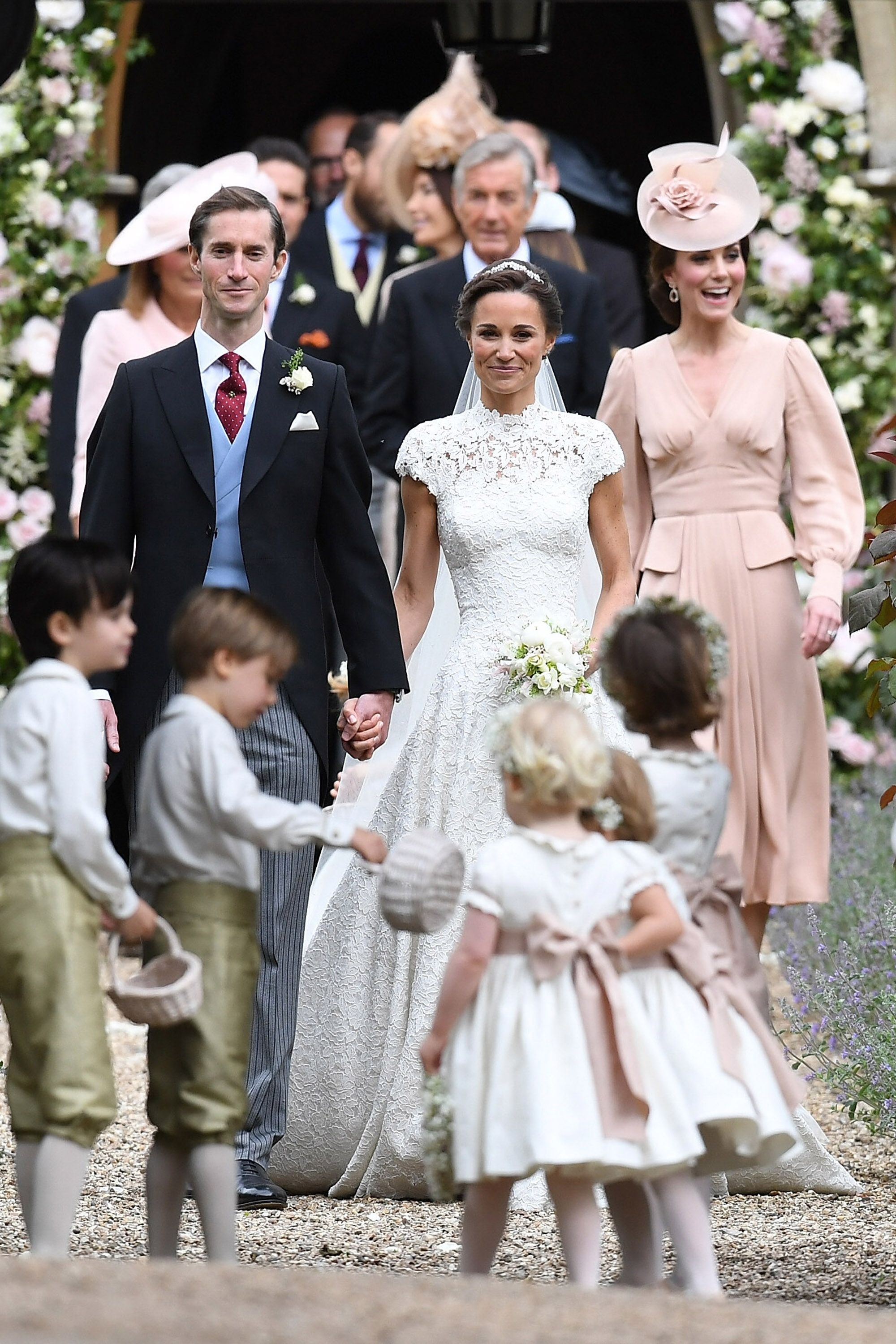 Pippa Middleton And Family Party In Royal Box At Coronation Festival