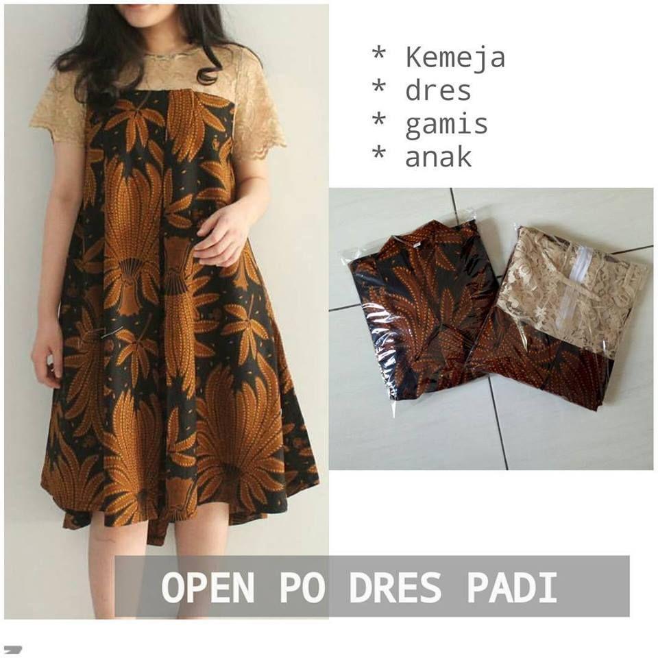 Image result for model dress batik big size  Pakaian wanita