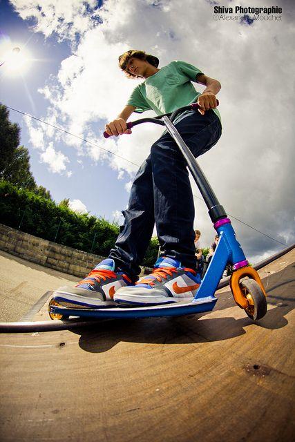 Pierre Emmanuel Jacques Bmx Freestyle Kids Scooter