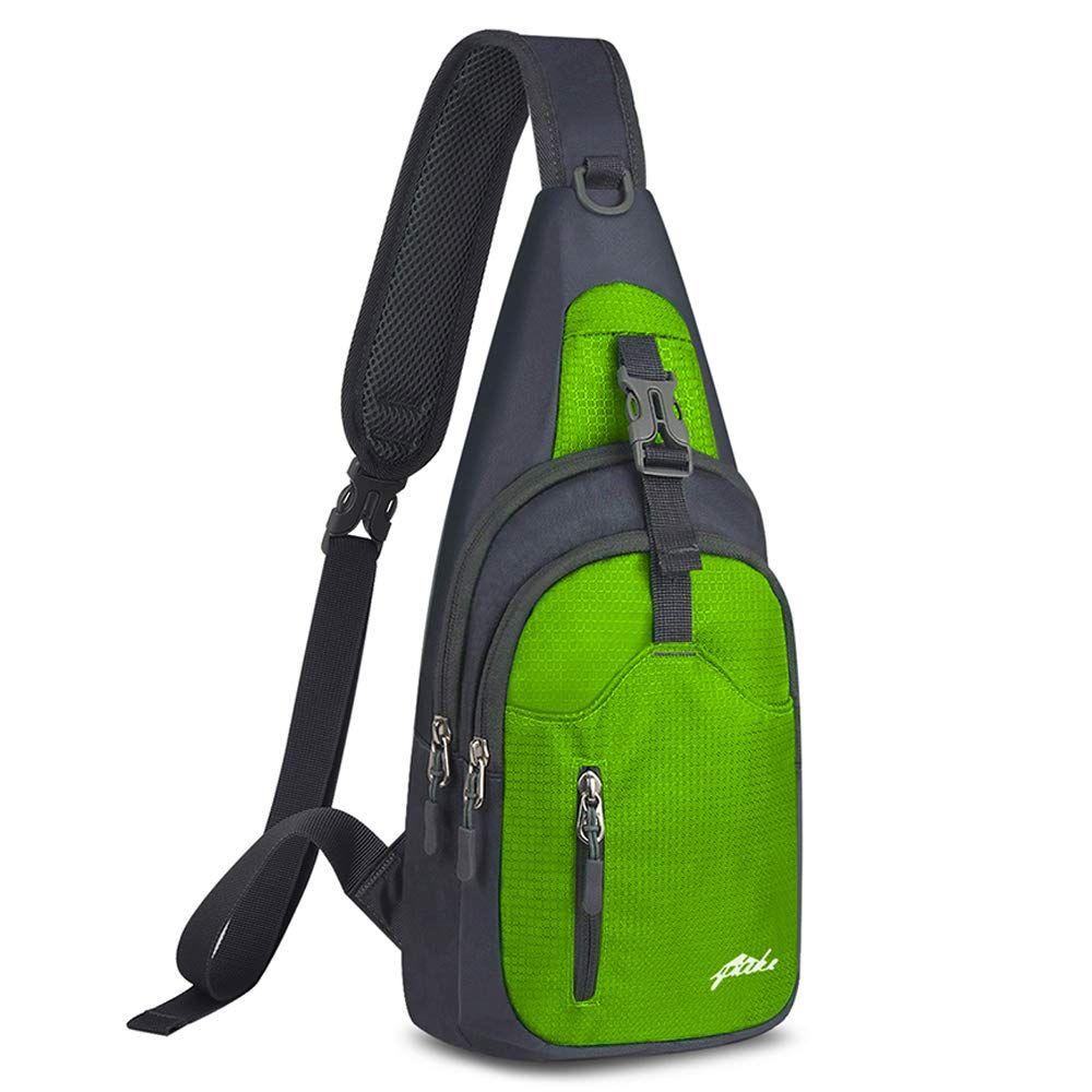 Men Women Chest Bag Backpack Shoulder Bag Travel Bag Satchel Daypack Weekend New