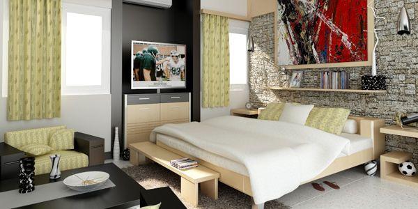 Tips in Designing Cosy Studio Type Rooms | Home Design Lover & Tips in Designing Cosy Studio Type Rooms | Cosy Studio and Room