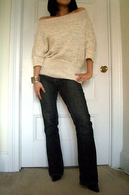 Ravelry Off The Shoulder Pullover Pattern By Vladimir Teriokhin