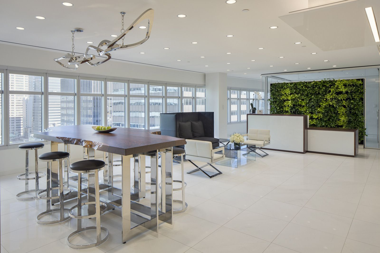 office tour meadows office interiors office and showroom new york